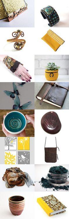 Handmade items 10/06 by Hajnalka Szabóné Csiby on Etsy--Pinned with TreasuryPin.com