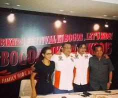 HDCI Gandeng Pemkot Gelar Bogor Bike Week 2015