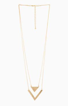 Love Triangles Necklace