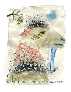 Old Man Guinnias the elderly goat - Katherine Dunn