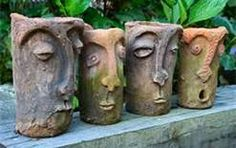 Garden Containers And Pots. I would love to have these.