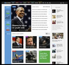 USA Today - Redesigns for tomorrow, will soon unleash a beautiful new look on digital and print.