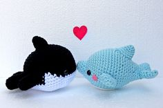 Amigurumi Orca Whale : 1000+ images about Amigurumi on Pinterest Free pattern ...