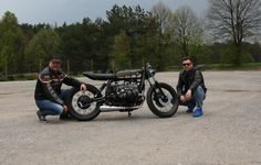 Custom made BMW R80 ST cafe racer - newest build of Wena Customs