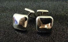Tiffany & Co. Cuff Links  Solid Silver  by STUNNINGCOLLECTIBLES