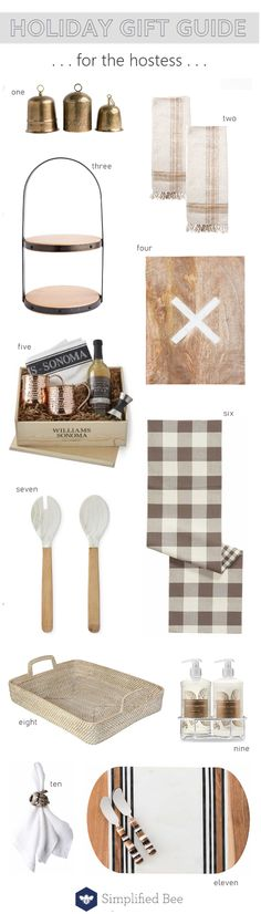 hostess gifts :: gift guide 2018 #hostessgift #giftguide #thanksgiving