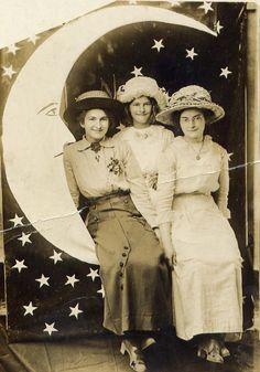 Three Sisters on a Moon....