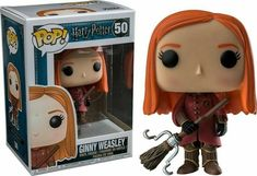 Funko Pop Harry Potter 50 Quidditch Ginny Weasley Barnes & Noble for sale online Harry Potter Pop Figures, Harry Potter Pop Vinyl, Objet Harry Potter, Harry Potter Toys, Ginny Weasley, Bellatrix Lestrange, Lord Voldemort, Remus Lupin, Draco Malfoy
