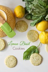 The Kitchen Prep: Lemon-Basil Cookies- definitely whipping up a batch!