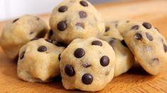 Essbarer Keksteig (Cookie Dough) Rezept als Back-Video zum selber machen! Ganz einfach Schritt für Schritt erklärt!