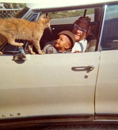 Cat Hitchhiker - 1970s