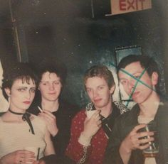Rare pic of Siouxsie And The Banshees