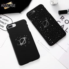 Universe Planet Matte For iPhone Se X Xs Max Xr Cover For iPhone 6 7 8 Plus Case Cute Black Galaxy Capinhas Girly Phone Cases, Ipod Touch Cases, Iphone Cases Cute, Diy Phone Case, Iphone Phone Cases, Iphone 7 Plus Cases, Phone Covers, Iphone 6s Preto, Cs Lewis