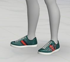 GreenApple18r — [ The Sims 4 Custom Content ] Gucci Sneakers •...