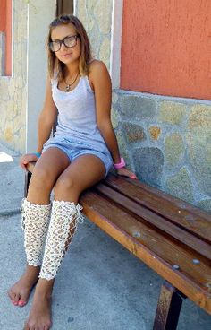 Wedding shoes  victorian laced up leg warmers by JenitBoutique, $42.00