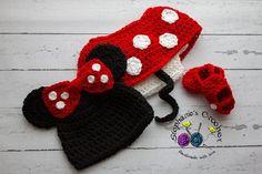 Minnie Mouse set pattern via Craftsy