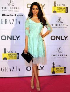 Red Carpet Turns to Runway at Grazia Young Fashion Awards 2014 Bollywood Celebrities, Bollywood Actress, Indian Makeup And Beauty Blog, Prettiest Actresses, Shraddha Kapoor, Young Fashion, Indian Wear, Indian Outfits, Indian Actresses