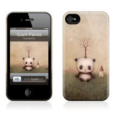 I desperately want this!!!!-Giant Panda iPhone 4/4S Case now featured on Fab.