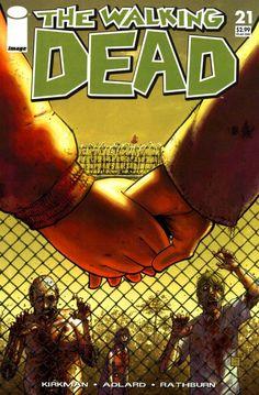 Capa da Edição #21 de The Walking Dead