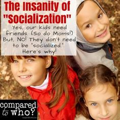 """Tired of people asking you if you how you'll handle your homeschool children's """"socialization"""" - here's what you need to know about that word and what it REALLY means..."""