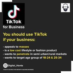 Tiktok is giving a tough competition to Instagram in India. It's still cheaper compared to all other platforms and brings pretty good attraction to the brand. Brands like Ustraa, Myntra, Khatabook are very aggressively spending on Tiktok ads. . . Follow @Digital_hanta for latest trends in online marketing . #TikTokads #Tiktokforbusiness #SmallBusinessOwners #SupportSmall #BrandingOnTiktok #BrandingOnline #MobileAdvertising  #SuccesfullMarketing Mobile Advertising, Growth Hacking, Pretty Good, Platforms, Online Marketing, Attraction, Competition, Latest Trends, Bring It On