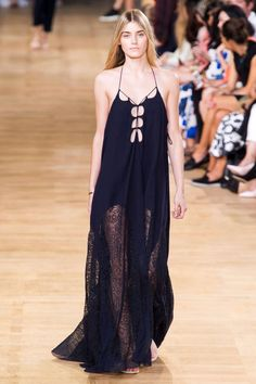 Chloe Spring 2015. See all the best runway looks from #PFW:
