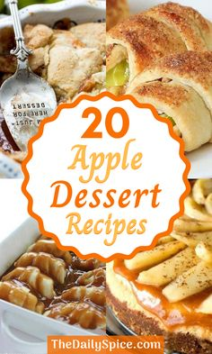 Apple Dessert Recipes, Fall Desserts, Candy Recipes, Fruit Recipes, Desert Recipes, Apple Recipes, Just Desserts, Fall Recipes, Baking Recipes