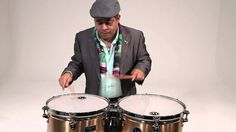 In the Studio with Giovanni Hidalgo (Timbale Solo #1)