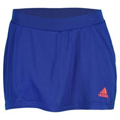 """Wear theadidasWomen's adizero Tennis Skortfor a stylish and athletic look that's perfect for performance. This classic cut skort is equipped withForMotionfor increased freedom of movement andClimaCooltechnologyfor heat and moisture management through ventilation. FFeaturing a soft, lightweight fabric for comft and built0in tights, this skort is the ultimate in performance.Technical Benefits:ForMotion,ClimaCoolFabric:100% Polyester Single JerseyLength: 11""""Color:Hero Ink/Hi-Res…"""