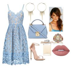 Summer Date Night by yjmunson on Polyvore featuring Stuart Weitzman, Mark Cross, John Hardy, Club Manhattan, Lime Crime and Chloé