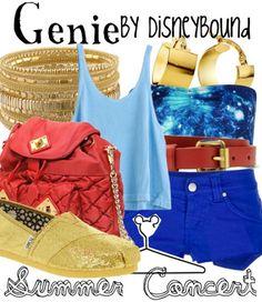 Genie summer concert outfit   Disneybound