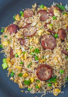 Kielbasa Fried Rice is a type of fried rice with Kielbasa sausage. It is a delicious dish that is very easy to prepare. Although I ...