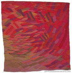 Silvia Heyden tapestry - Sonatina in A Textile Prints, Textile Design, Textiles, Tapestry Weaving, Online Art Gallery, Fiber Art, Needlepoint, Art Decor, Needlework