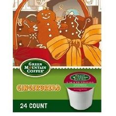 For me - Green Mountain Coffee Fair Trade Gingerbread, 24-Count K-Cups for Keurig Brewers