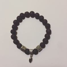 Special request. Black coal with football charm