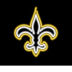 New Orleans Saints Neon Sign at SportsFansPlus.com