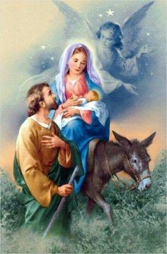 Jesus, Mary, and Joseph ~ The Holy Family. Merry Christmas, and may God bless you with his love and grace everyday. Christmas Scenes, Christmas Nativity, Christmas Pictures, Merry Christmas, Christmas Diy, Religious Pictures, Jesus Pictures, Catholic Art, Religious Art