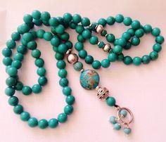 Add to cart Request a custom order Rosary Beads, Prayer Beads, Beaded Jewelry, Beaded Necklace, Beaded Bracelets, Turquoise Beads, Turquoise Necklace, Jet Stone, Islamic Prayer