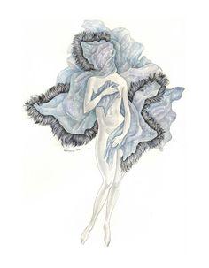 Blanketed Venus- Brett Manning. $10.00, via Etsy.