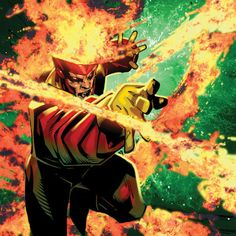 Firestorm by Chris Bachalo