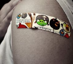 Angry Birds Bandages