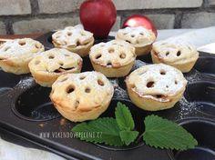 VÍKENDOVÉ PEČENÍ: Křehké košíčky s jablky Brownie Cupcakes, Mini Cupcakes, Pie In The Sky, Cronut, Bagel, Doughnut, Red Velvet, Tea Party, Cheesecake