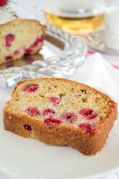 Queque de Frambuesas y Limón Vanilla Cake, Banana Bread, Brunch, Diet, Breakfast, Desserts, Food, Drinks, Pound Cake