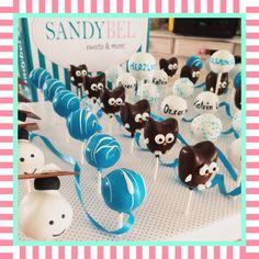 Zum Doktor-Abschluss die passenden #cakepops by #sandybel