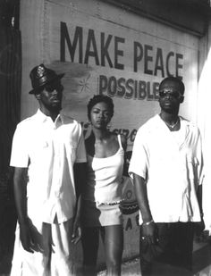 Fugees Photography: Make Peace Possible *posted by Hip Hop Fusion