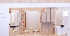 Barcode Room: Un espacio mínimo y flexible a través de muebles dinámicos