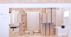 Barcode Room: Un espacio mínimo y flexible a través de muebles dinámicos,© Studio_01