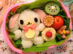 Japanese food art - Sanrio
