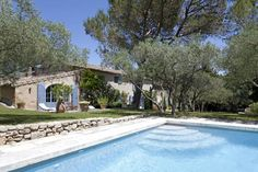 Near St Remy de Provence, Les Alpilles, Provence Archi Design, Us Swimming, Amazing Spaces, Outdoor Living, Outdoor Decor, Garden Pool, Old Farm, Shabby, Sweet Home