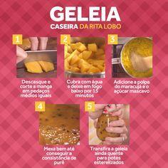 Com só três ingredientes você pode fazer a sua própria geleia em casa!